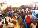 My first day in Uganda, we had a party for all of the sponsor children.. talk about a welcoming committee ;)