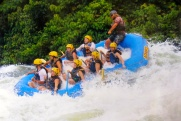 white water rafting in the Nile River