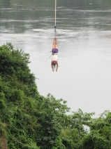 bungee jumping over the Nile