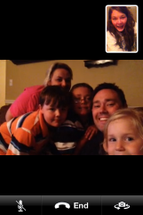 FaceTime/ skype was seriously the biggest blessing while I was sick.. it made me miss home/ all things that were familiar to me. I got to talk with one family I just adore. Even though I was so so sick (as you can see from how exhausted/ pale/ nasty I look), they prayed for me and made me laugh and encouraged me greatly.