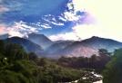 beautiful Dharmshala. we spent a week here.